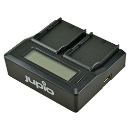 Afbeelding van Jupio Dedicated Duo Charger for JVC SSL-JVC50 / SSL-JVC75